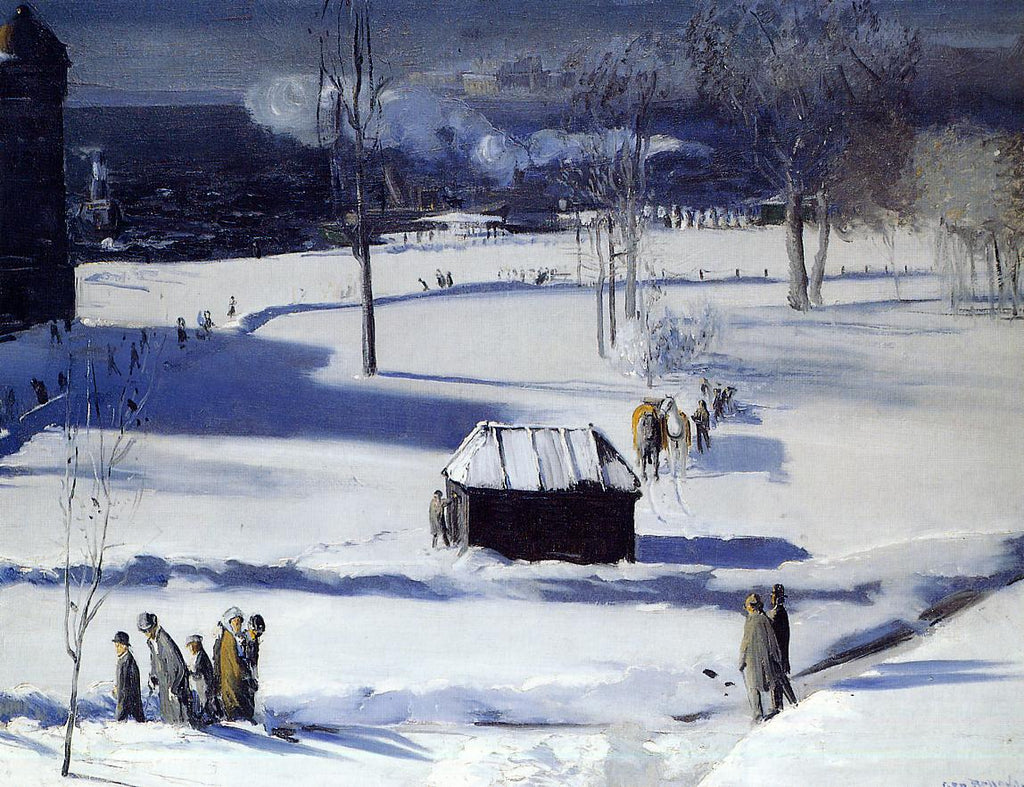 George Bellows - Blue Snow, The Battery