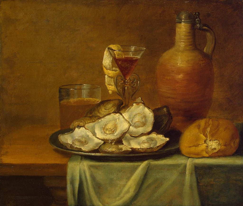 Jacob van Es - Breakfast with Oysters