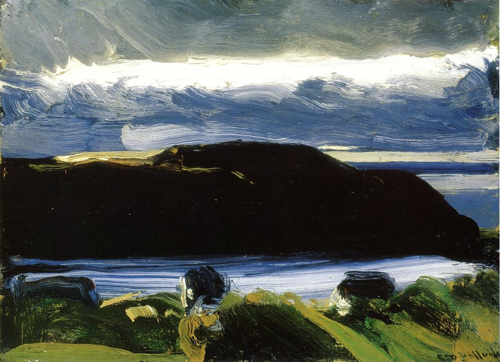 George Bellows - Breaking Sky, Monhegan
