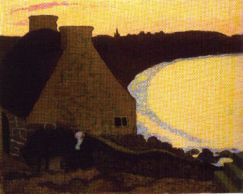 Maurice Denis - Breton Landscape In Yellow