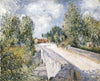 Alfred Sisley - Bridge over the Orvanne near Moret