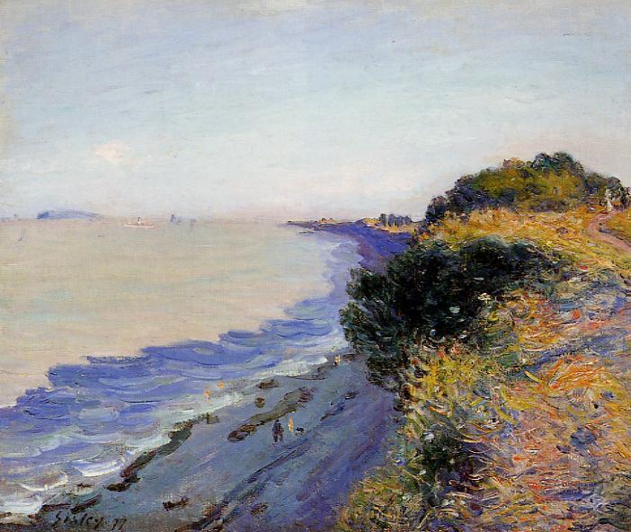 Alfred Sisley - Bristol Channel from Penarth, Evening