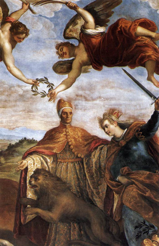 Palma Giovane - Allegory of the Victory over the League of Cambrai