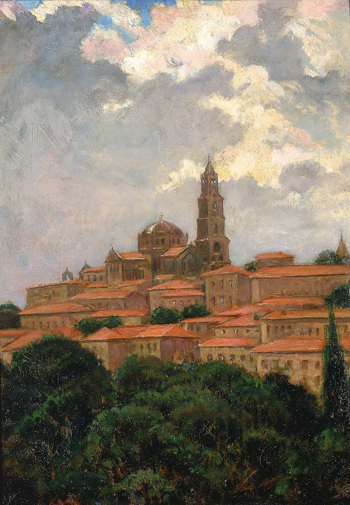 Carroll Beckwith - Cathedral at le Puy