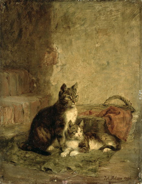 Julius Adam - Cats 1883