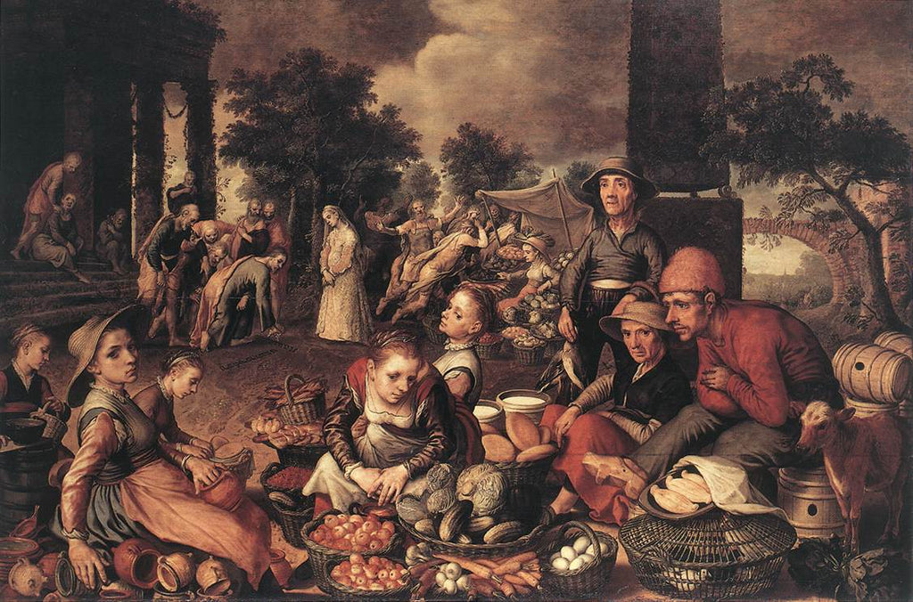 Pieter Aertsen - Christ and the Adulteress 1559