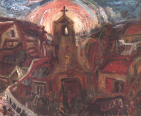 Imre Amos - Church at Szentendre
