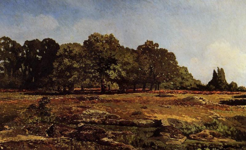 Alfred Sisley - Avenue of Chestnut Trees near La Celle-Saint-Cloud II