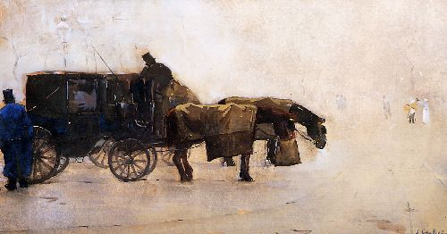 Floris Arntzenius - Coaches In The Winter Cold