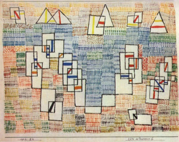 Paul Klee - Coast of Provence