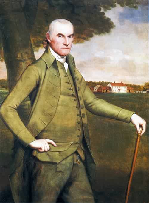 Ralph Earl - Colonel William Floyd 1793