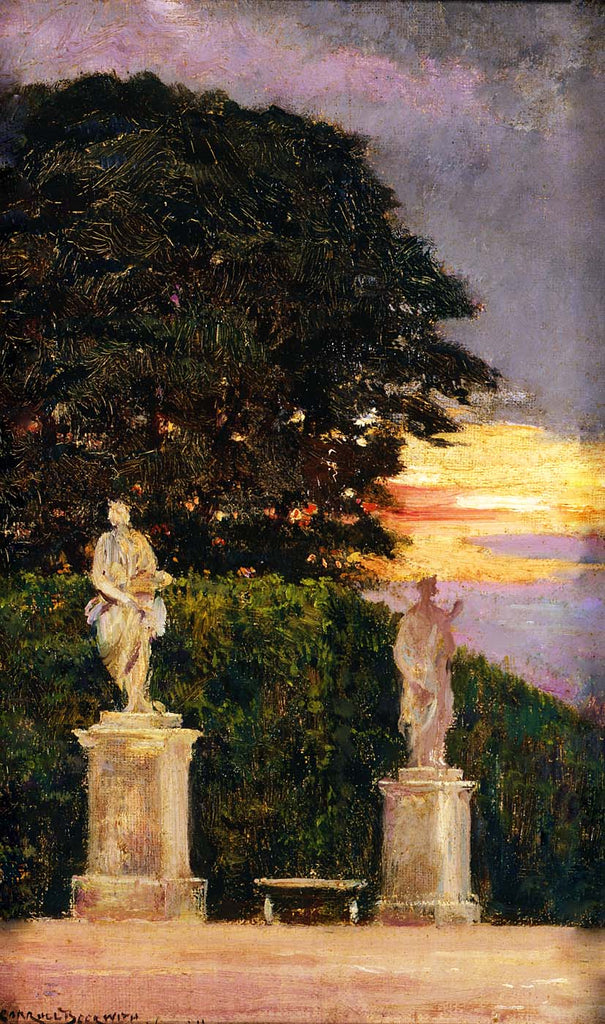 Carroll Beckwith - Corner of the Terrace, Versailles