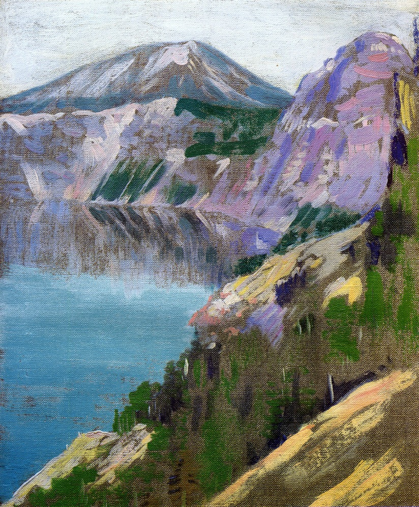Arthur Wesley Dow - Crater Lake 1919