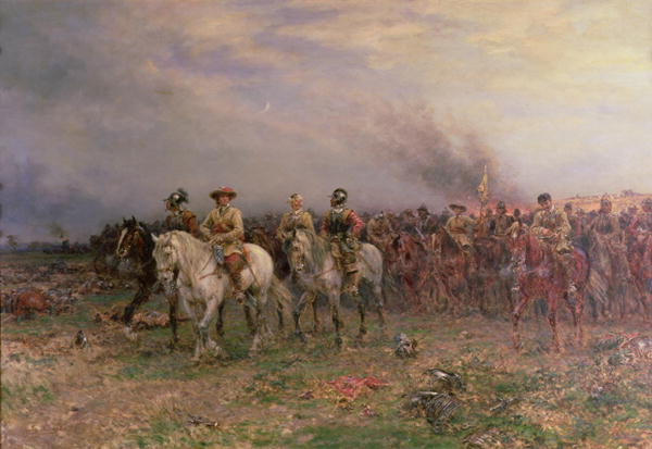 Ernest Crofts - Cromwell after the Battle of Marston Moor
