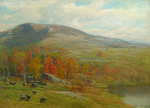 John Joseph Enneking - Crotched Mountain in October
