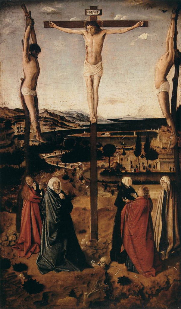 Da Messina Antonello - Crucifixion b