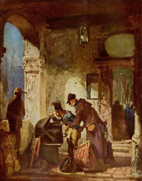 Carl Spitzweg - Customs Examination