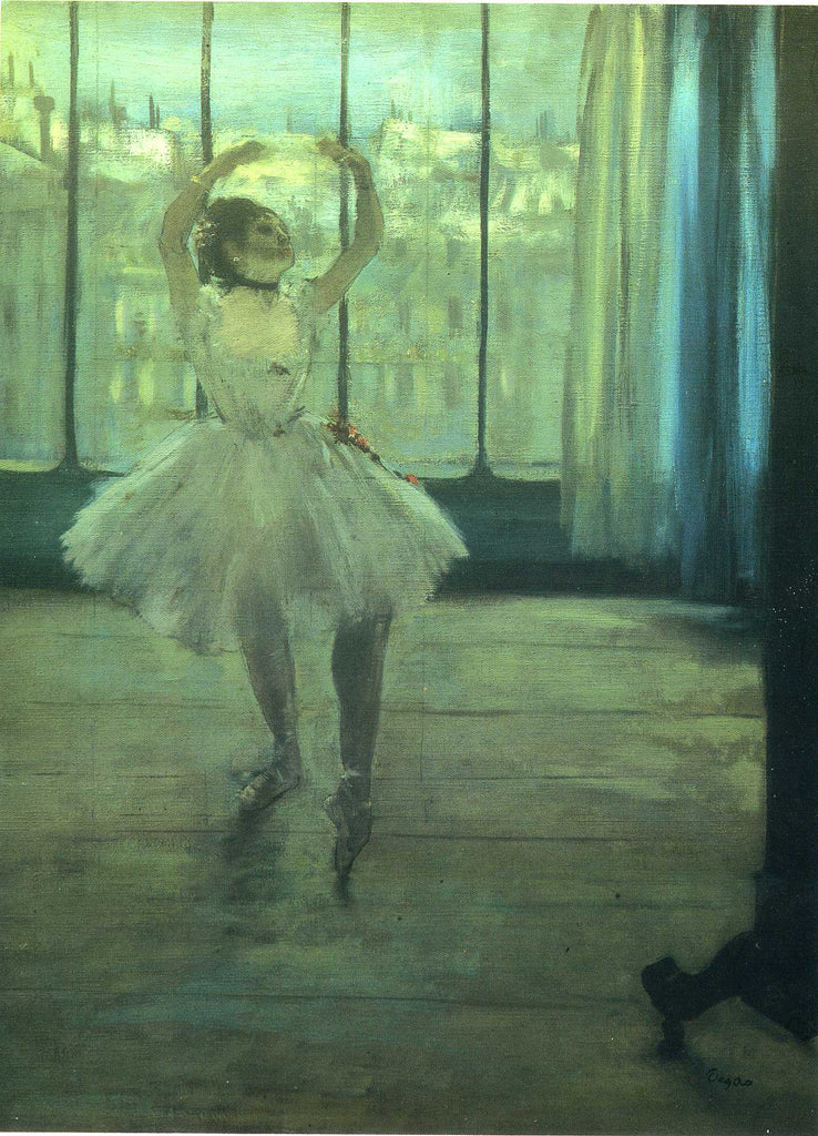 Edgar Degas - Dancer at the Photographers