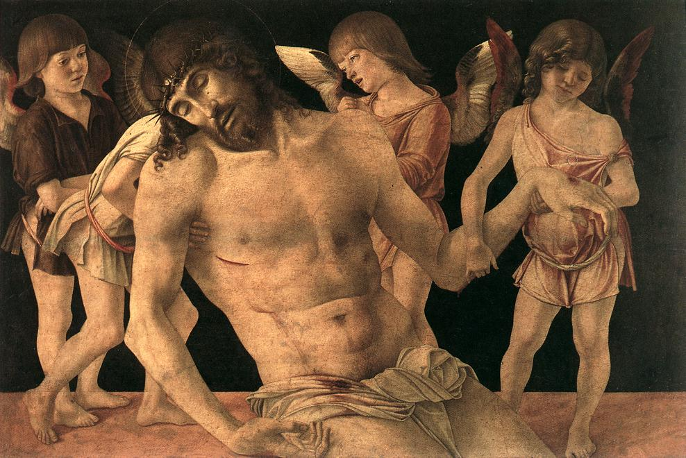 Giovanni Bellini - Dead Christ Supported by Angels