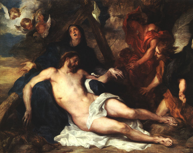 Sir Anthony van Dyck - Deposition