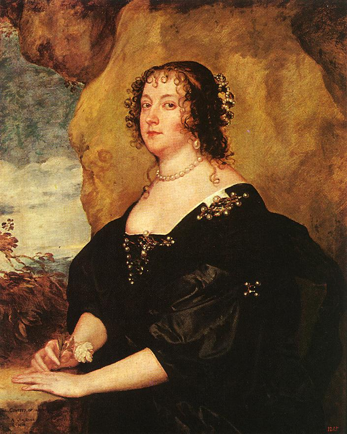 Sir Anthony van Dyck - Diana Cecil, Countess of Oxford