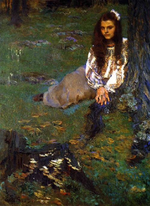Cecilia Beaux - Dorothea in the Woods