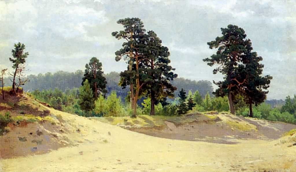 Ivan Shishkin - Edge of Forest