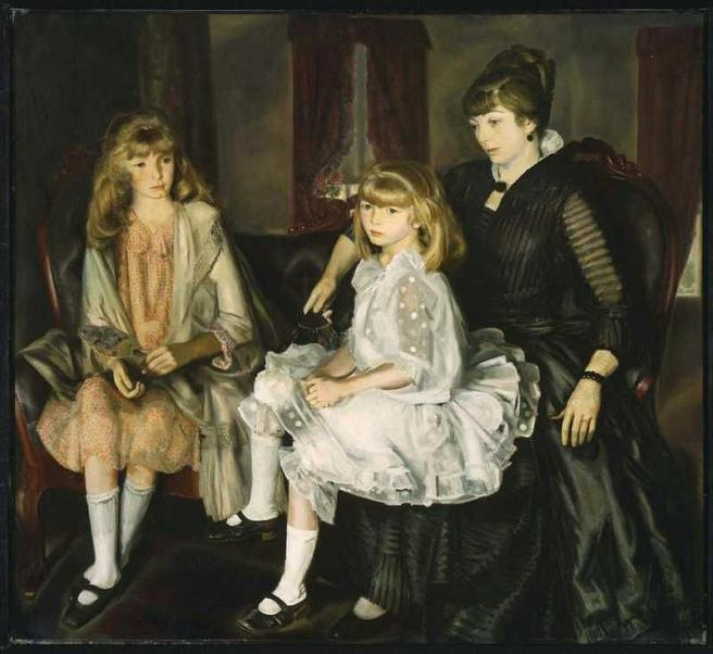 George Bellows - Emma and Her Children