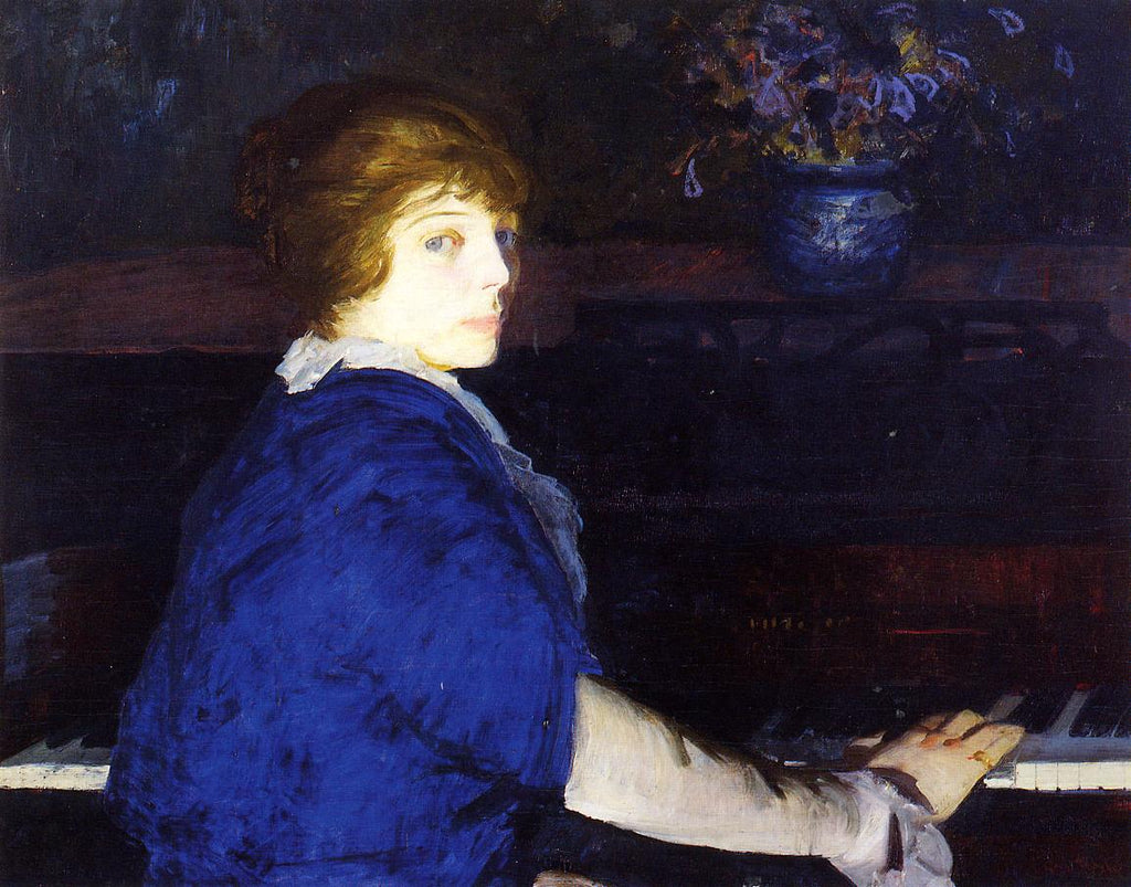 George Bellows - Emma at the Piano