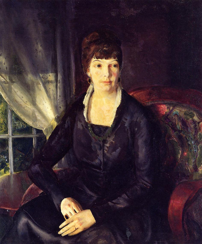 George Bellows - Emma at the Window