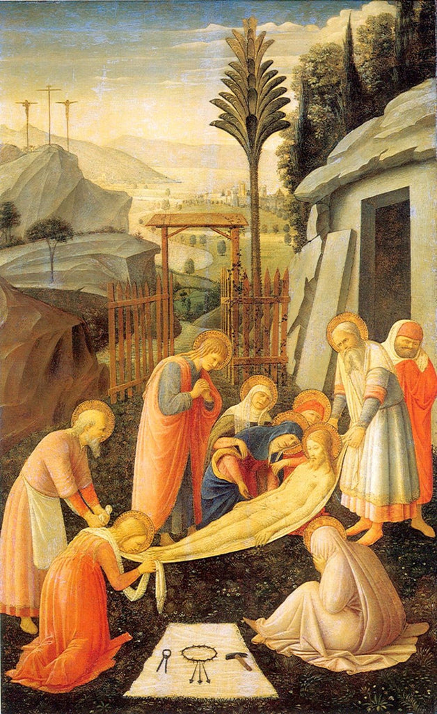 Fra Angelico - Entombment of Christ b