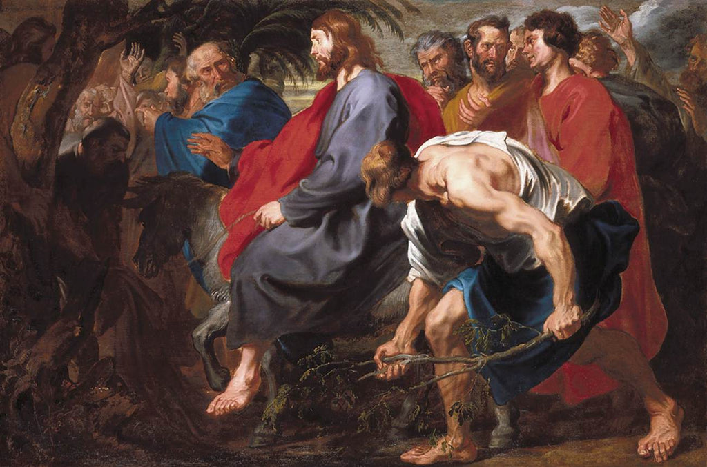 Sir Anthony van Dyck - Entry of Christ into Jerusalem