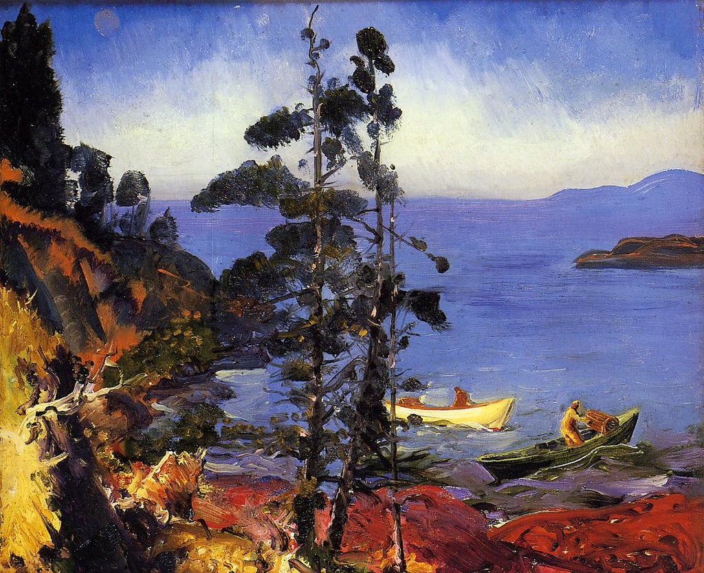 George Bellows - Evening Blue