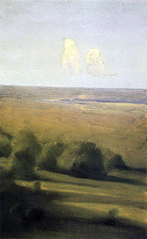Kuindzhi Arhip - Evening in the steppe 1876 1890