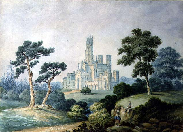 Francis Danby - Fonthill Abbey