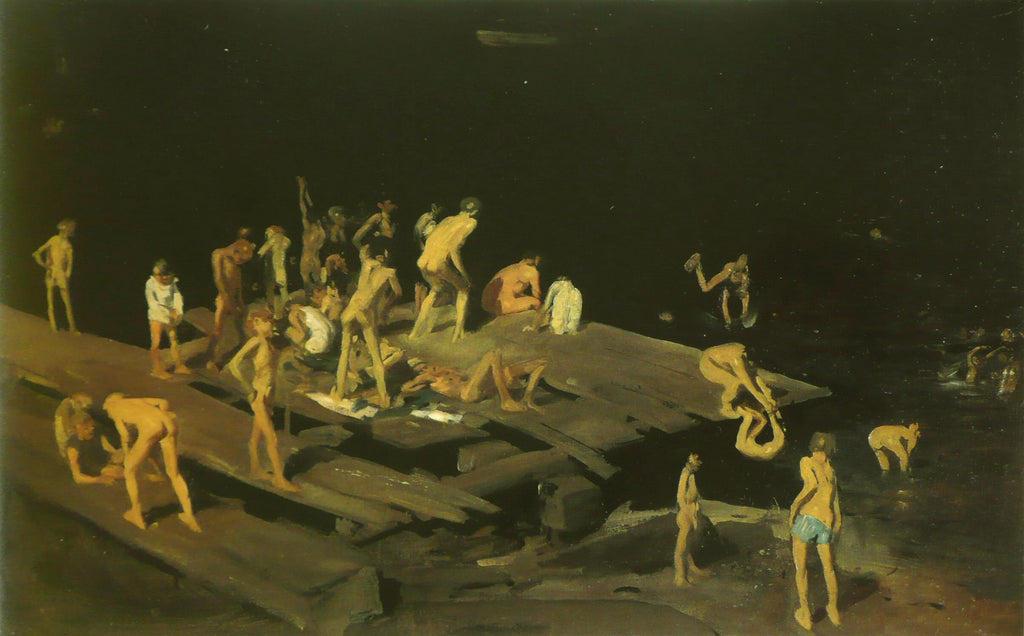 George Bellows - Forty Two Kids
