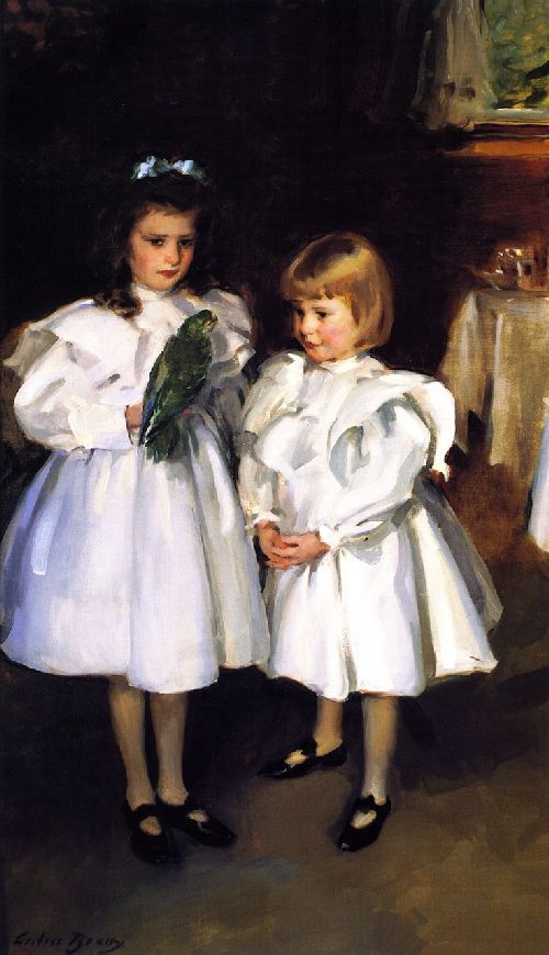 Cecilia Beaux - Gertrude and Elizabeth Henry