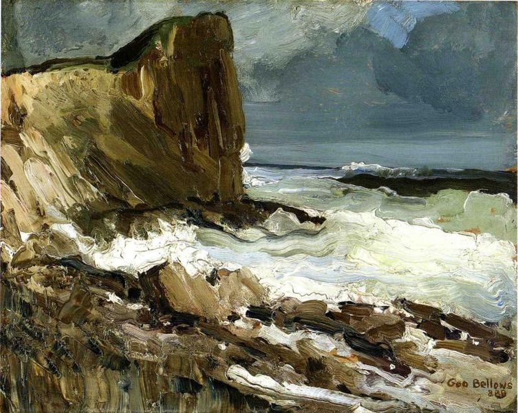 George Bellows - Gull Rock and Whitehead