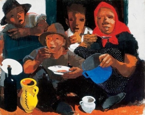 Vilmos Aba-Novak - Having Lunch