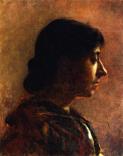 Cecilia Beaux - Head of a Woman b