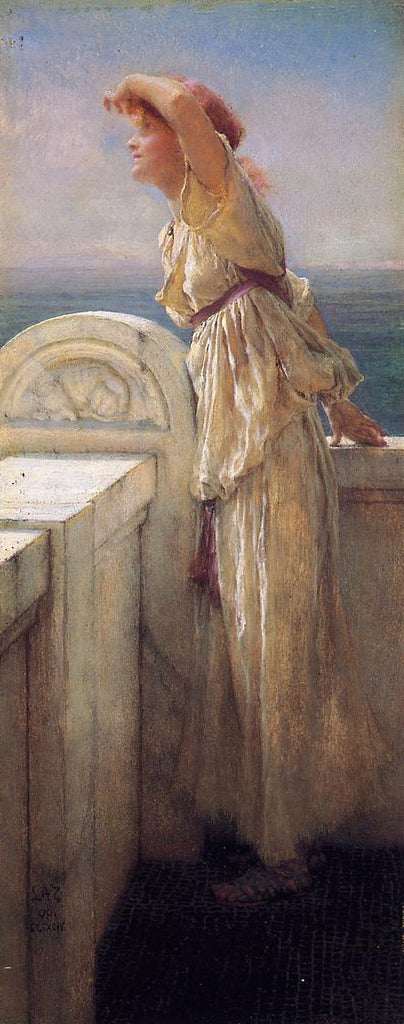 Lawrence Alma-Tadema - Hopeful