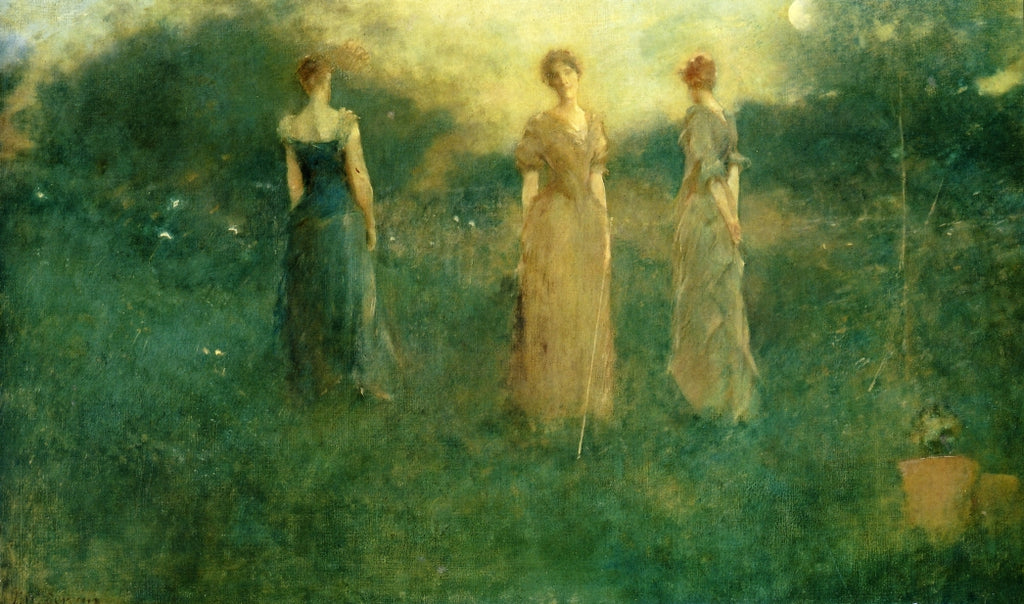 Thomas Wilmer Dewing - In the Garden