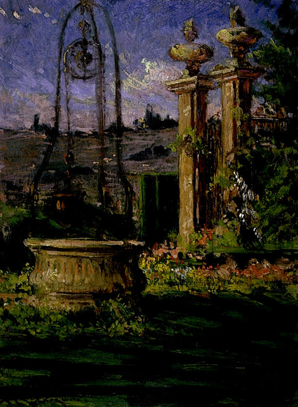 Carroll Beckwith - In the Gardens of the Villa Palmieri