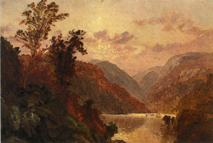 Jasper Francis Cropsey - In the Highlands of the Hudson