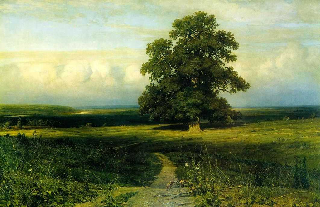 Ivan Shishkin - In the Middle of a Flat Valley