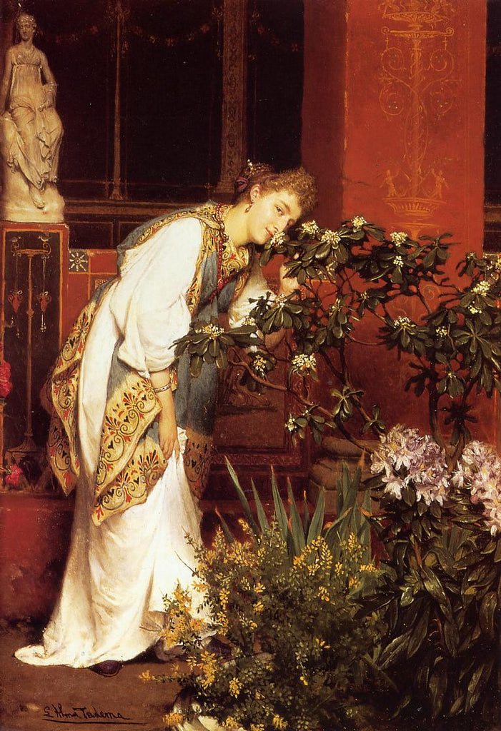 Lawrence Alma-Tadema - In the Peristyle
