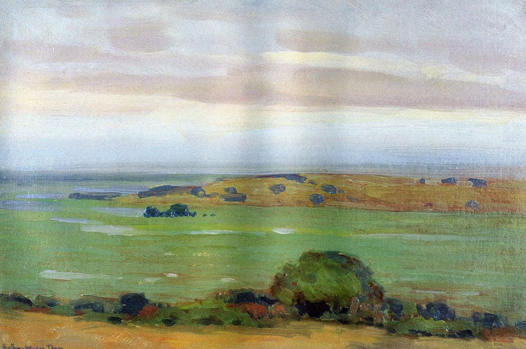 Arthur Wesley Dow - In the Shadow of the Thundercloud 1908