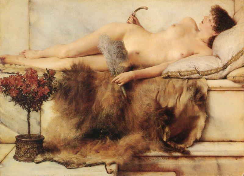 Lawrence Alma-Tadema - In the Tepidarium