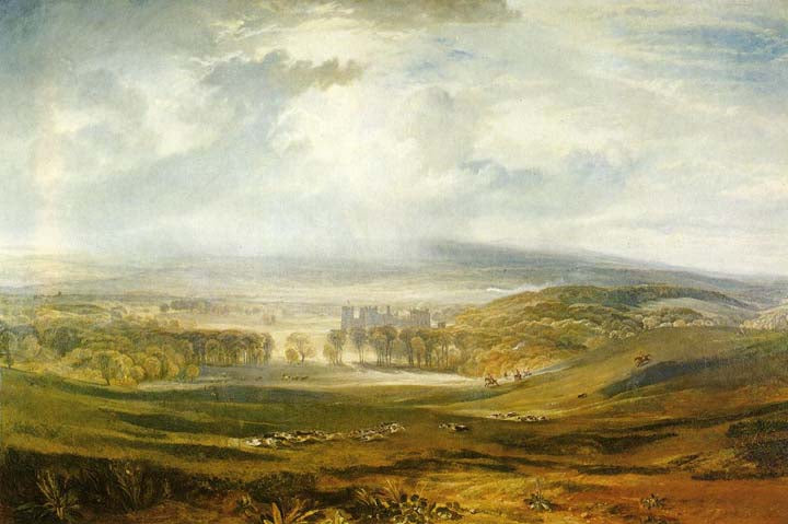 Jmw Turner - Raby Castle the Seat of the Earl of Darlington