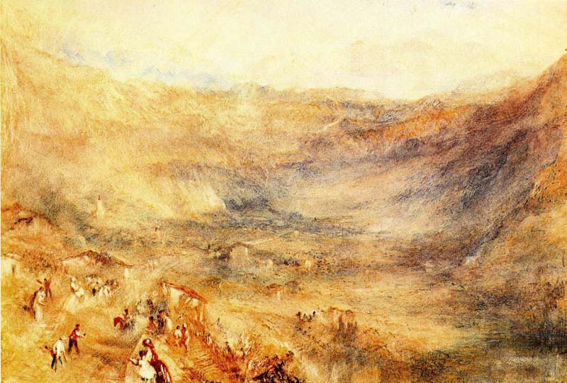 Jmw Turner - The Brunig Pass from Meringen